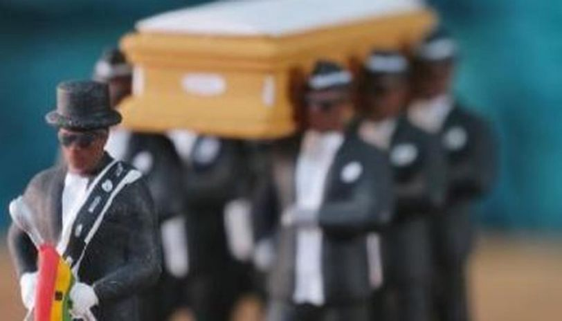 Hong Kong doll company sells Ghana dancing pallbearers figurines
