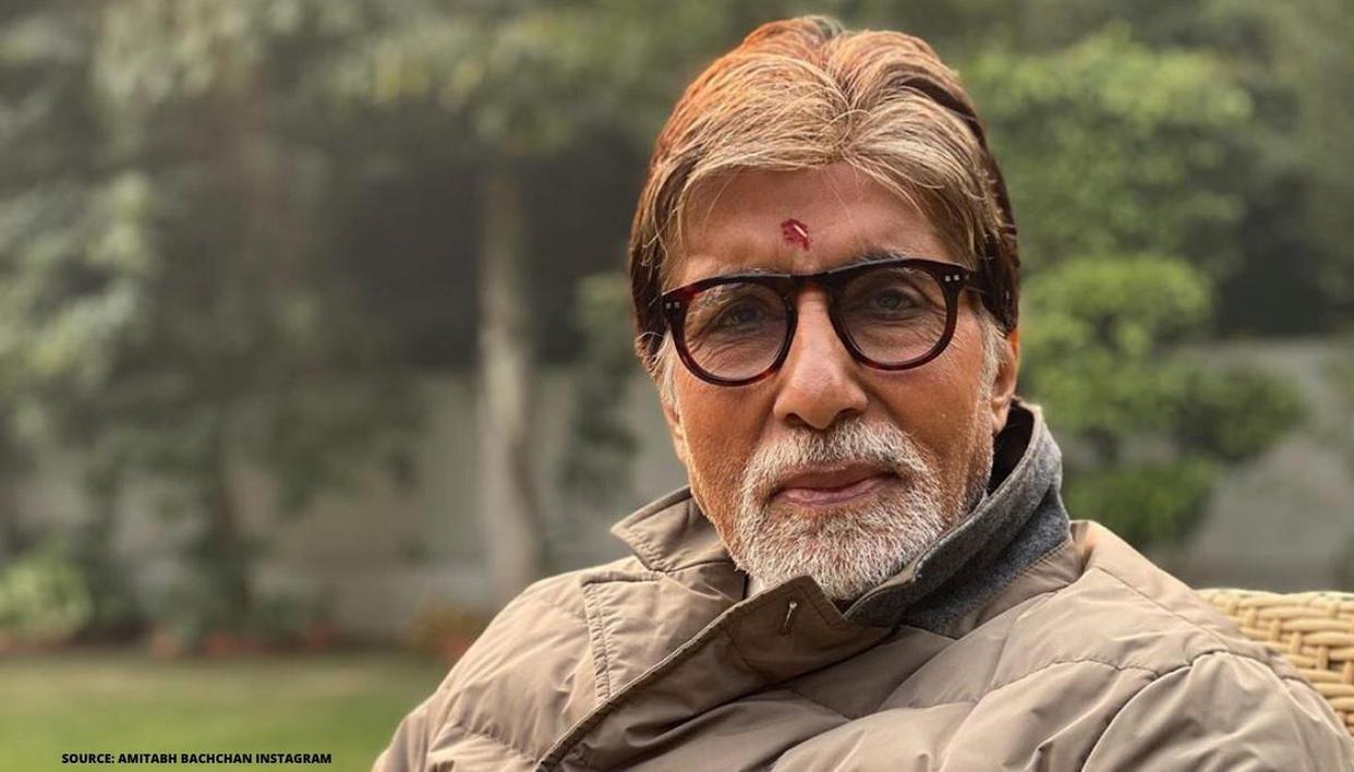 Amitabh Bachchan gets `Home Quarantined` stamp on hand