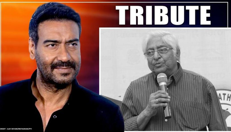 Ajay Devgn pays tribute to former Indian football captain Chunni Goswami
