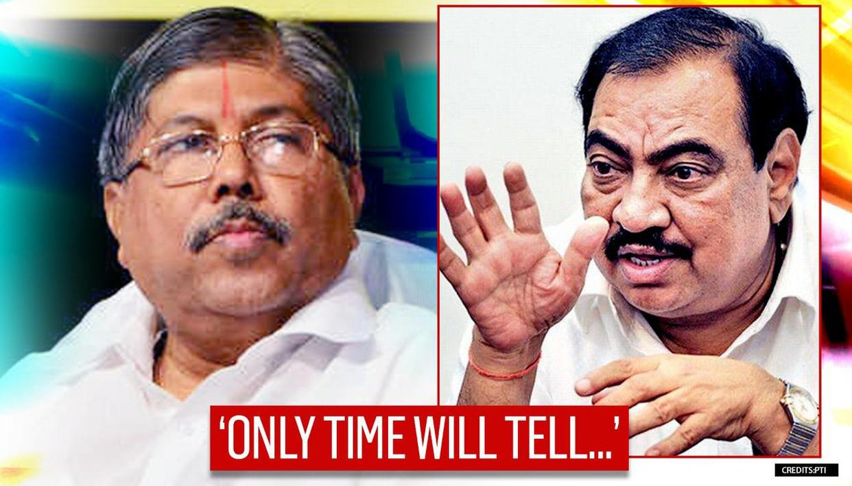 Candy or chocolate - what will NCP offer to Khadse? : Chandrakant Patil - Republic World