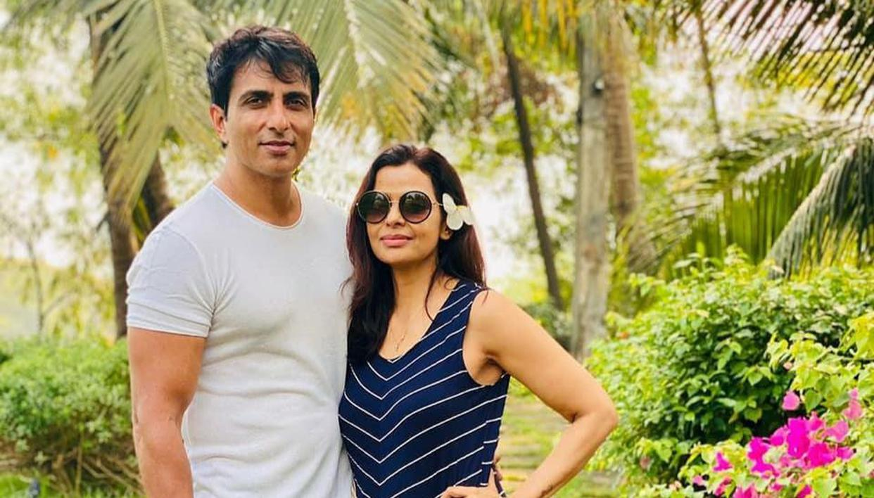 sonu sood and his wife