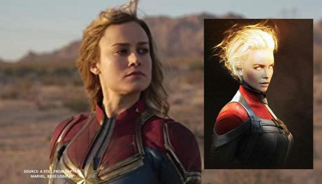Fans want to see Charlize Theron as Captain Marvel, not Brie Larson; see pic - Republic World