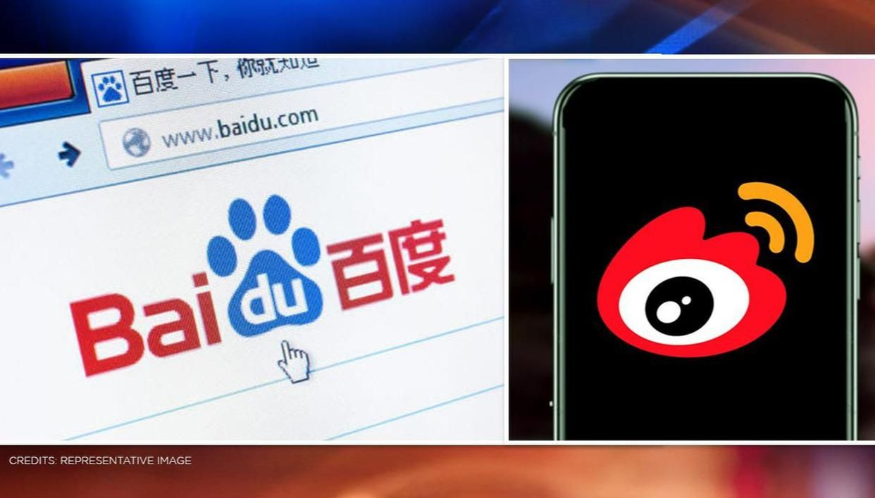 Chinese apps Weibo & Baidu Search to be taken down from app stores post ban by govt - Republic World