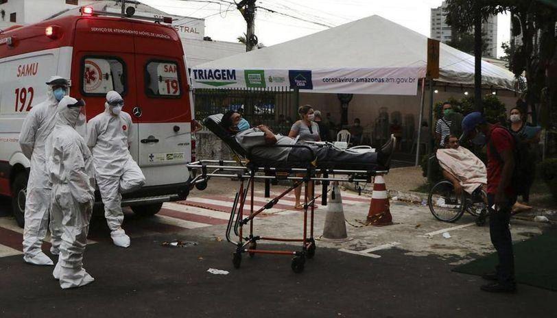 Brazil: Over 10,000 new coronavirus cases in 24 hours, 600+ deaths