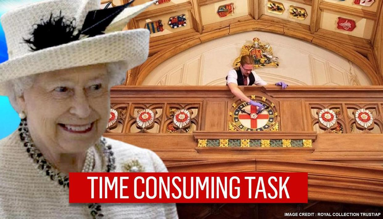 UK Queen's staff to spend 40 hours changing her 1,000 clocks; see the royal collection - Republic World