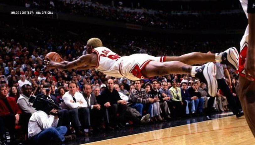 why was dennis rodman called the worm