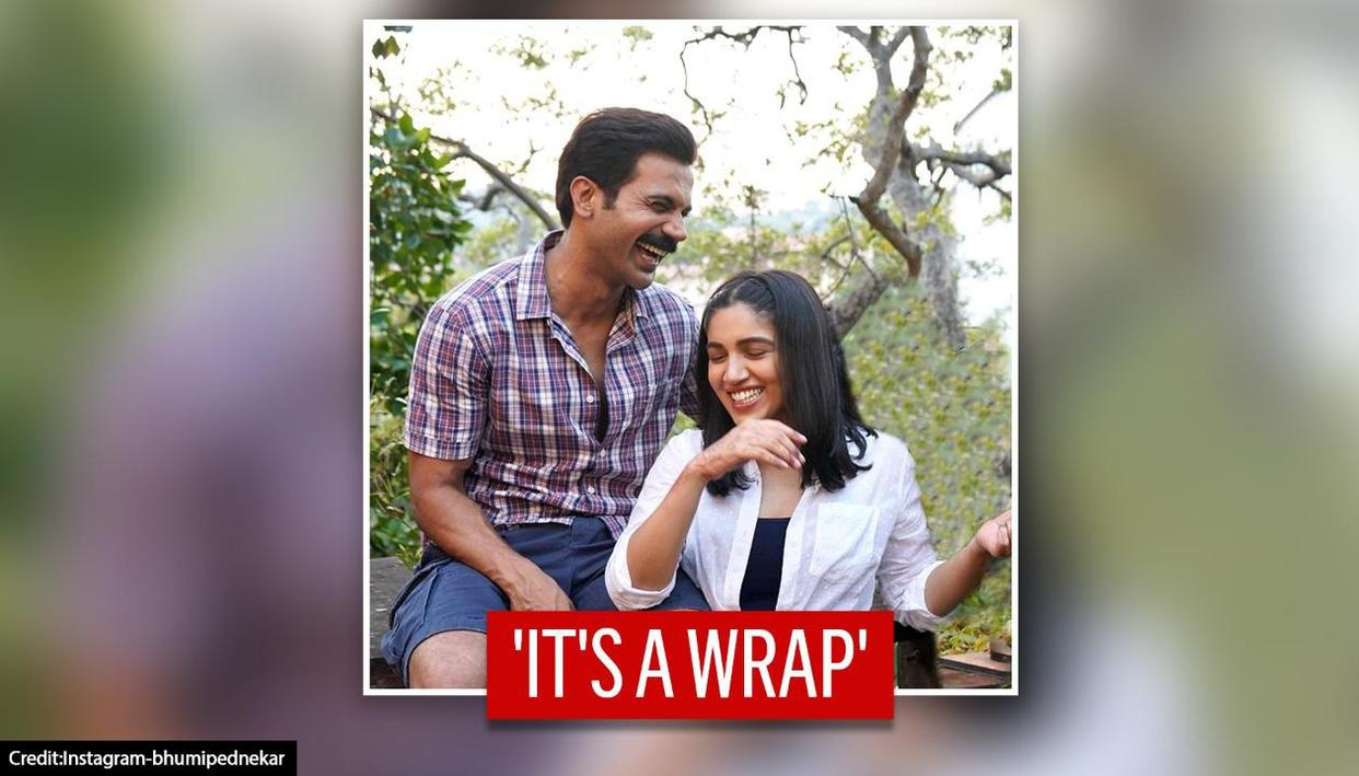 Bhumi Pednekar wraps shooting for Badhaai Do with Rajkummar Rao, shares pictures - Republic TV