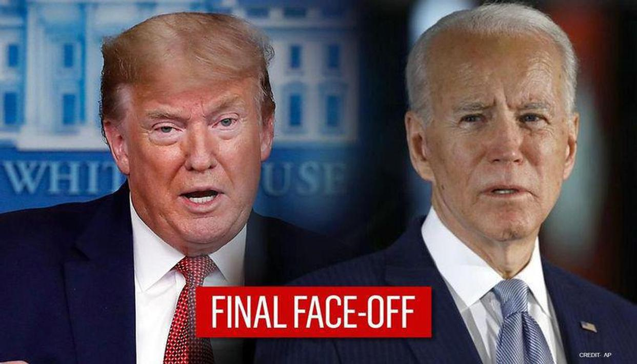 US Presidential Debate: What time will final Trump-Biden face-off start? Where to watch? - Republic World