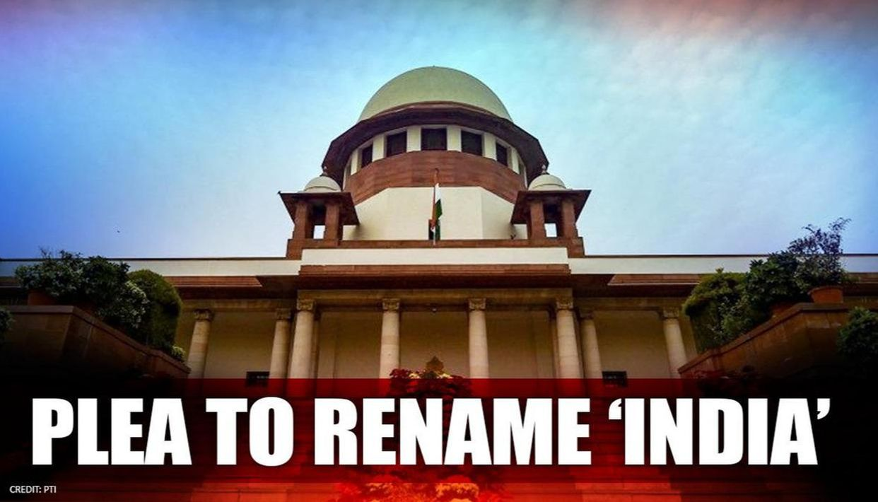 Petition In Supreme Court Of India To Change Country's Name From India To Bharat Or Hindustan