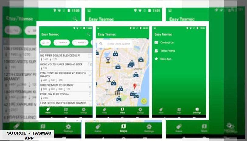 tasmac online app