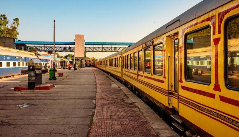 delhi to thiruvananthapuram train route