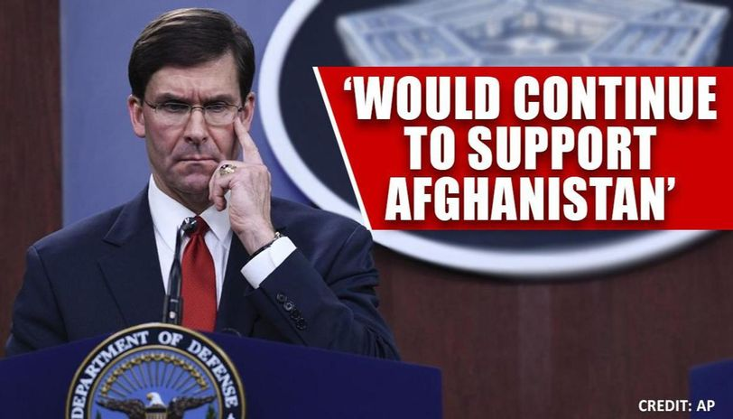Pentagon chief says US-Taliban deal would require compromise from both parties