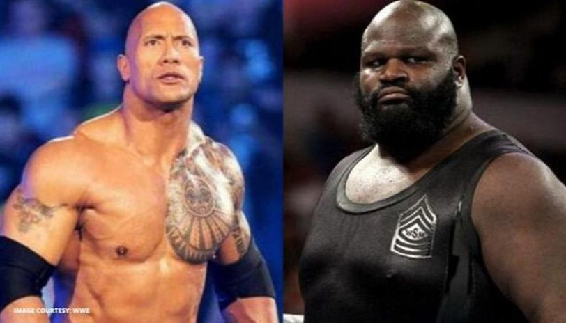 Mark Henry and The Rock