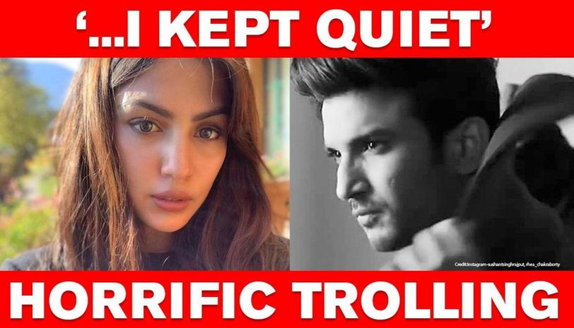 Rhea Chakraborty Exposes Troll S Heinous Threats To Her Over Sushant Enough Is Enough Republic World