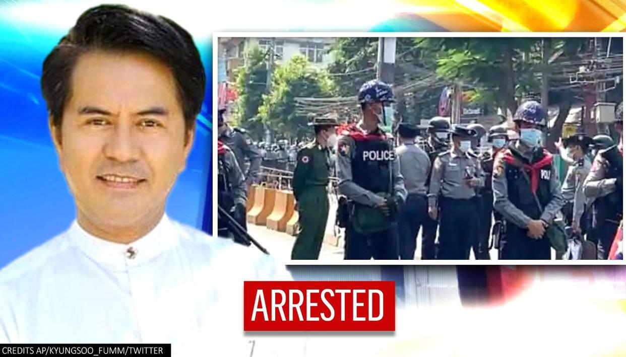 Myanmar police arrest actor Lu Min who was wanted under an anti-incitement law