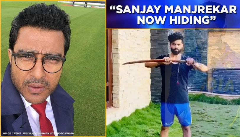 Netizens have filed day at Sanjay Manjrekar's expense on Ravindra Jadeja's #Rajputboy post