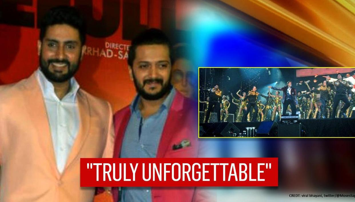 Abhishek Bachchan, Riteish have top-of-priority Jalsa plan to mark 'Unforgettable' concert - Republic World