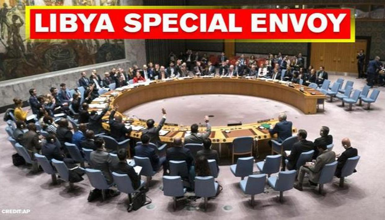 UNSC adopts darft resolution calling for appointment of Special Envoy for Libya - Republic World