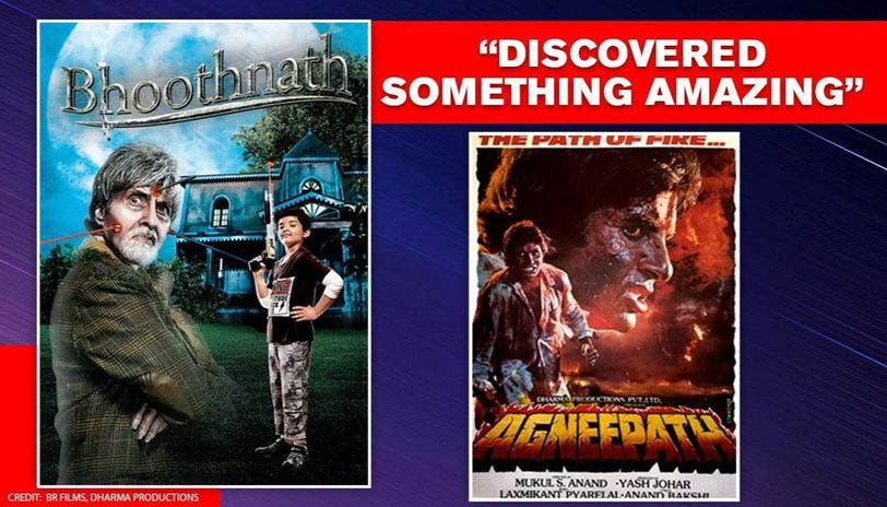 Big B points co-incidence between 'Bhootnath' & 'Agneepath', asks 'how did this happen?'