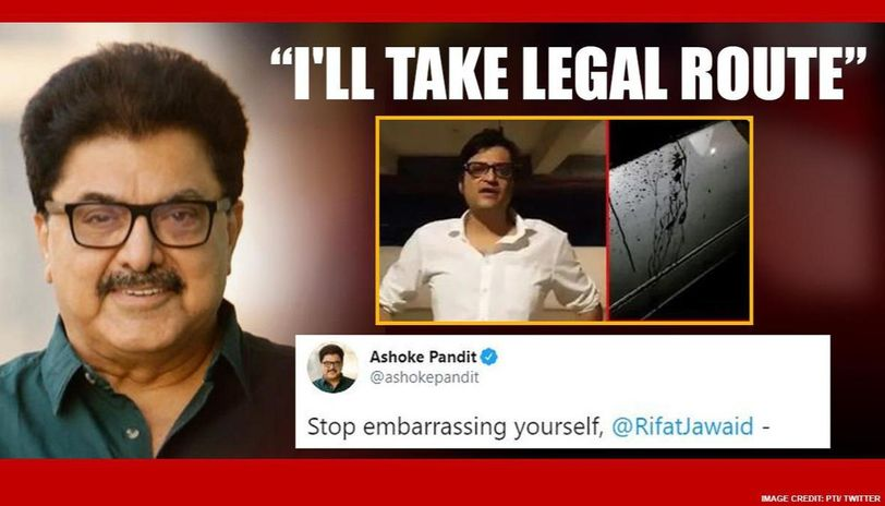 Ashoke Pandit lashes out after fake news, morphed time stamp on his tweet, gives proof