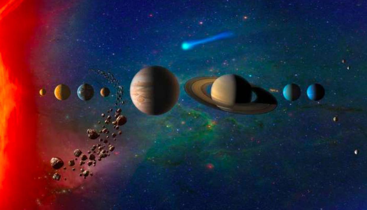 Astronomers discover unique 'cosmic superhighways' through Jupiter to Neptune