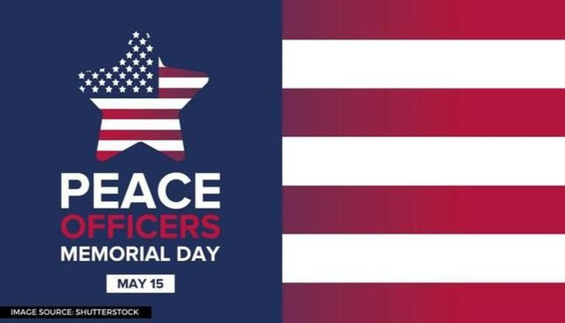 what is Peace officers memorial day
