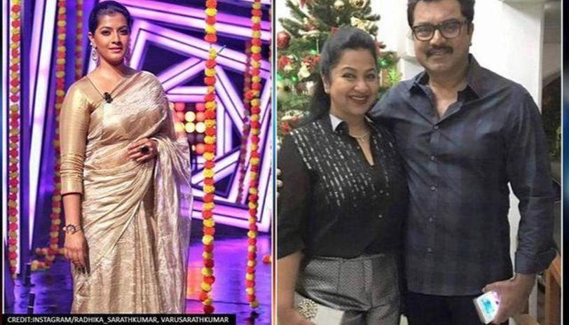 Radhikaa not my mom, she's my father's second wife, says Varalaxmi Sarathkumar