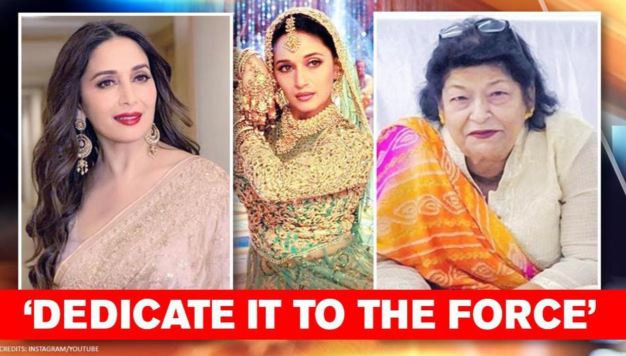 18 years of 'Devdas': Madhuri Dixit dedicates her finest performance to Saroj Khan - Republic World