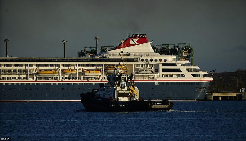 Cruise ship with COVID-19 patients docks in Cuba ...