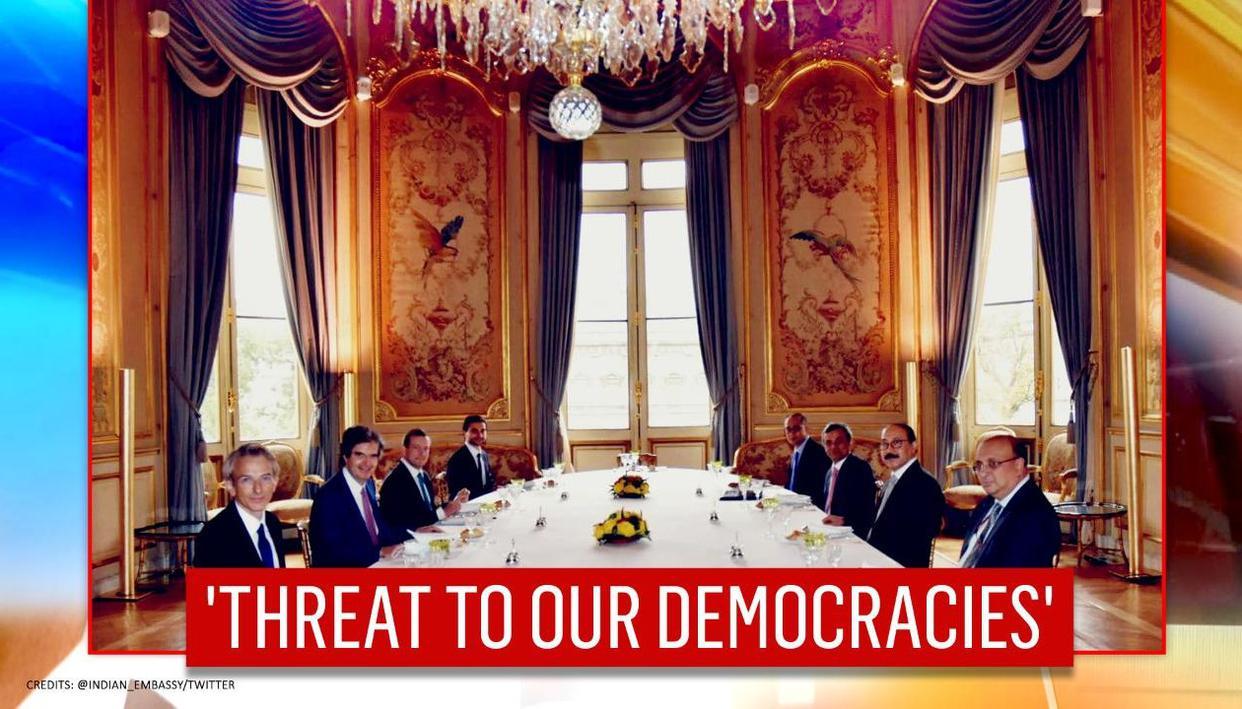 India & France discuss radical terrorism, assert 'shouldn't postpone coordinated response'