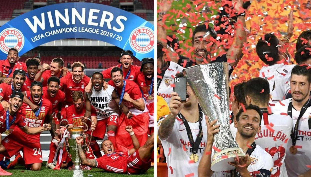 UEFA Super Cup 2020: How Bayern and Sevilla won their respective finals against PSG, Inter - Republic World