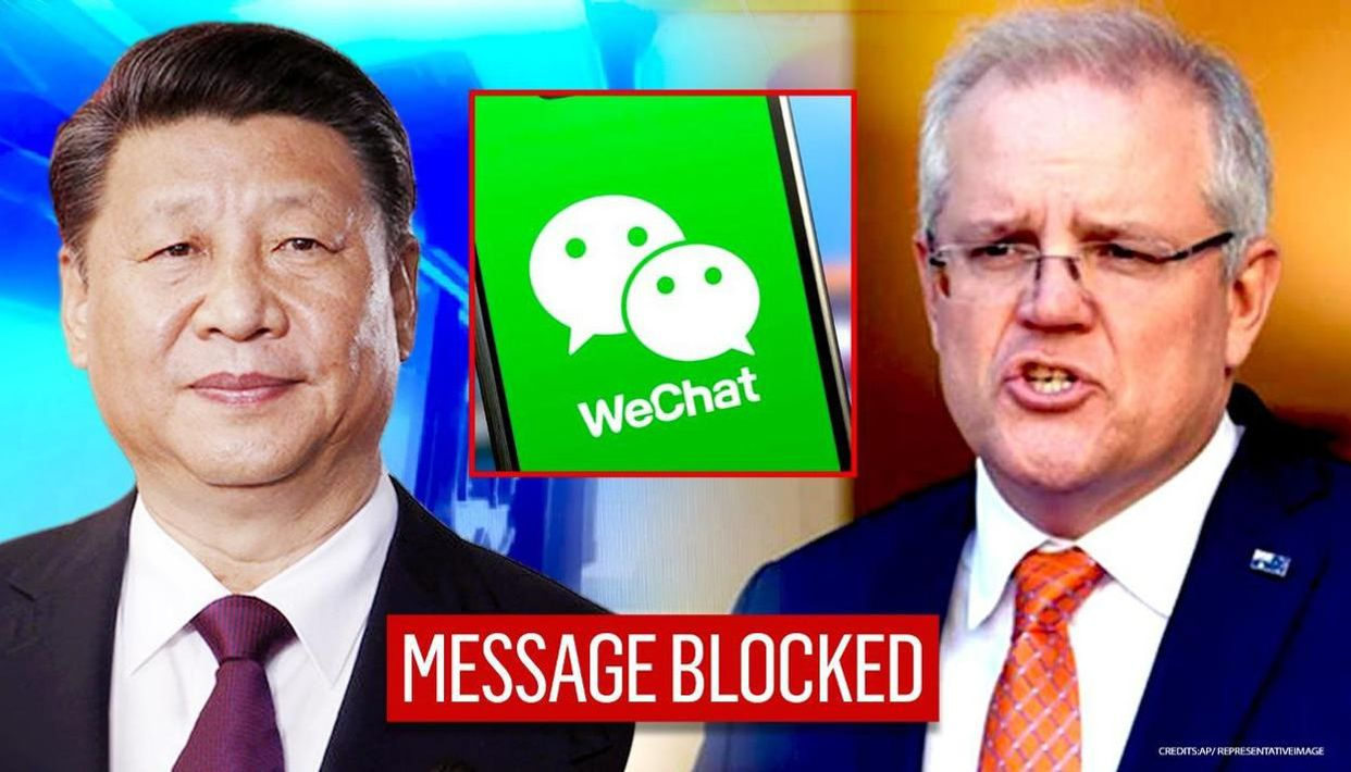 China's WeChat blocks Australian PM's message amid spat over fake soldier  image