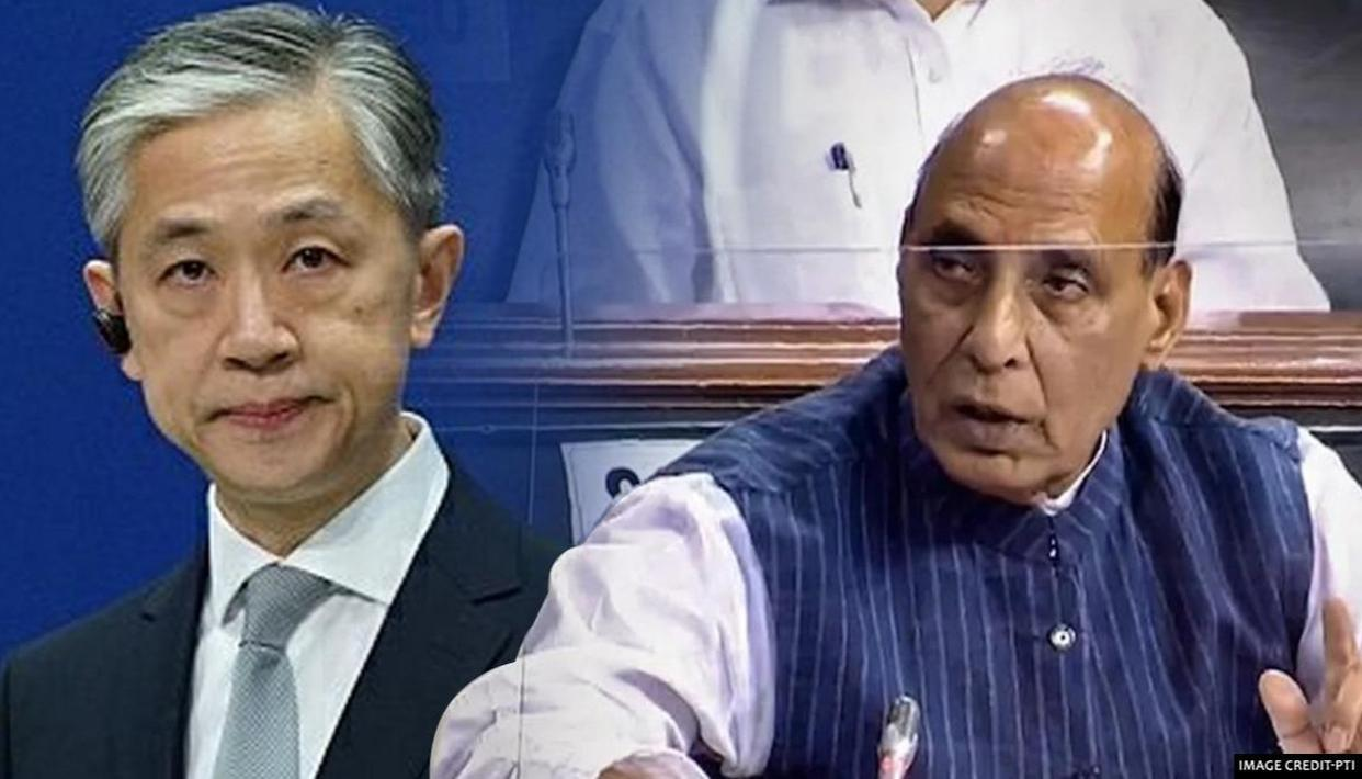 China reacts to Def Min Rajnath Singh's LS speech, cries 'disengage to ease tensions' - Republic World