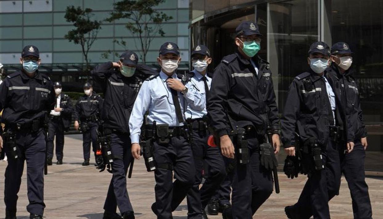 Hong Kong think tank raided by police following new security law crackdown - Republic World
