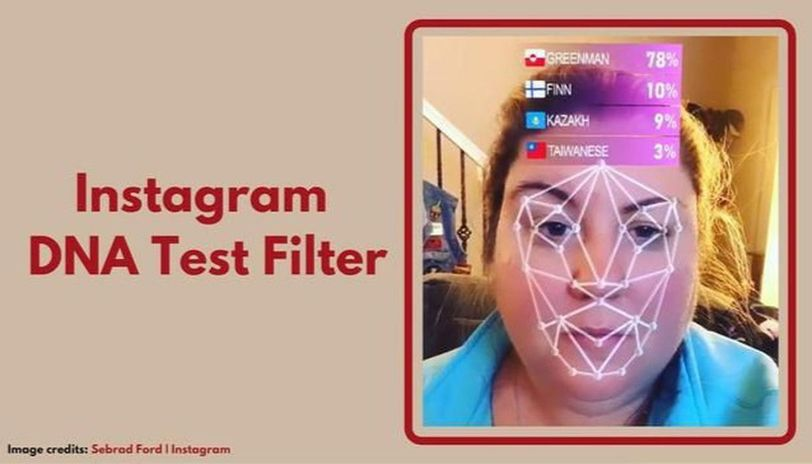 What is the DNA test filter on Instagram
