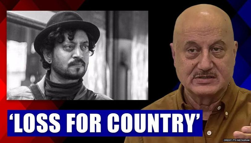 Anupam Kher gets shattered after Irrfan Khan's loss, calls it 'loss for country'