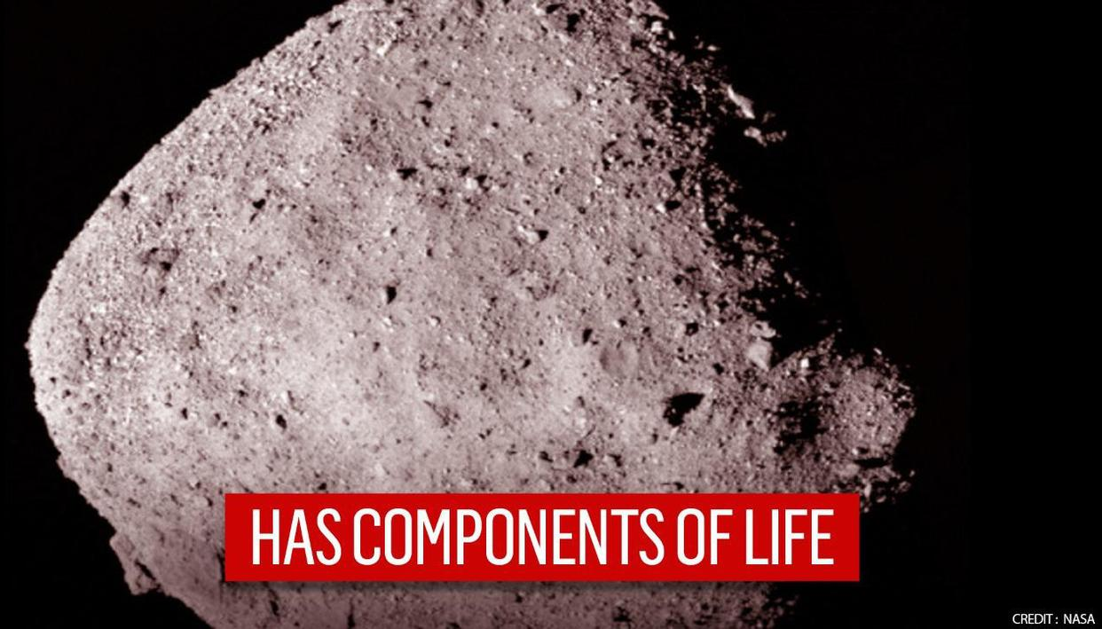 Scientists find organic material and water on asteroid for the first time - Republic TV