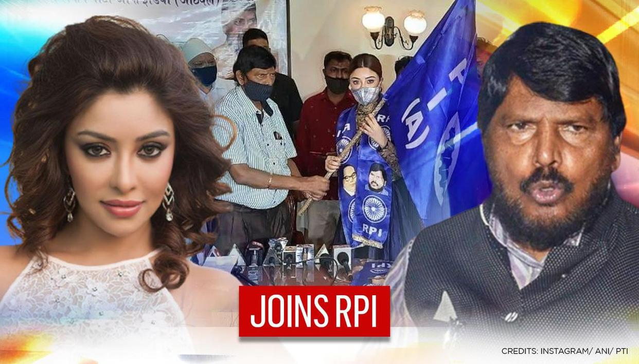 Payal Ghosh joins Ramdas Athawale's RPI; Becomes Vice President of party's women's wing - Republic World