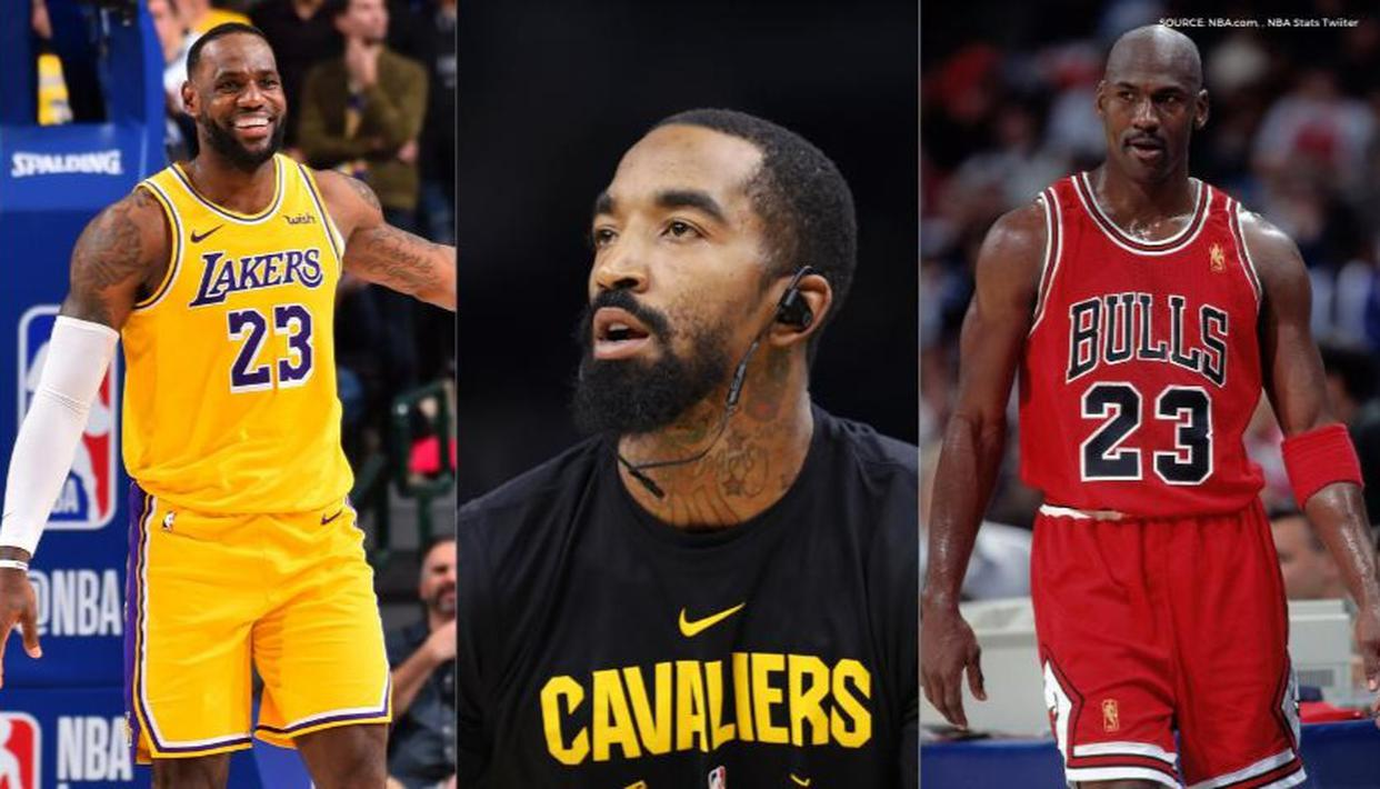 JR Smith weighs in on LeBron James vs Michael Jordan debate, says they cannot be compared - Republic World