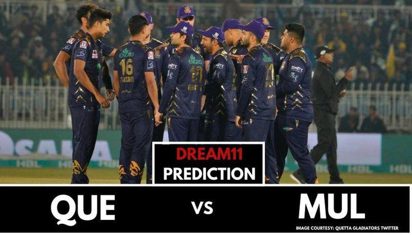 QUE vs MUL dream11 prediction