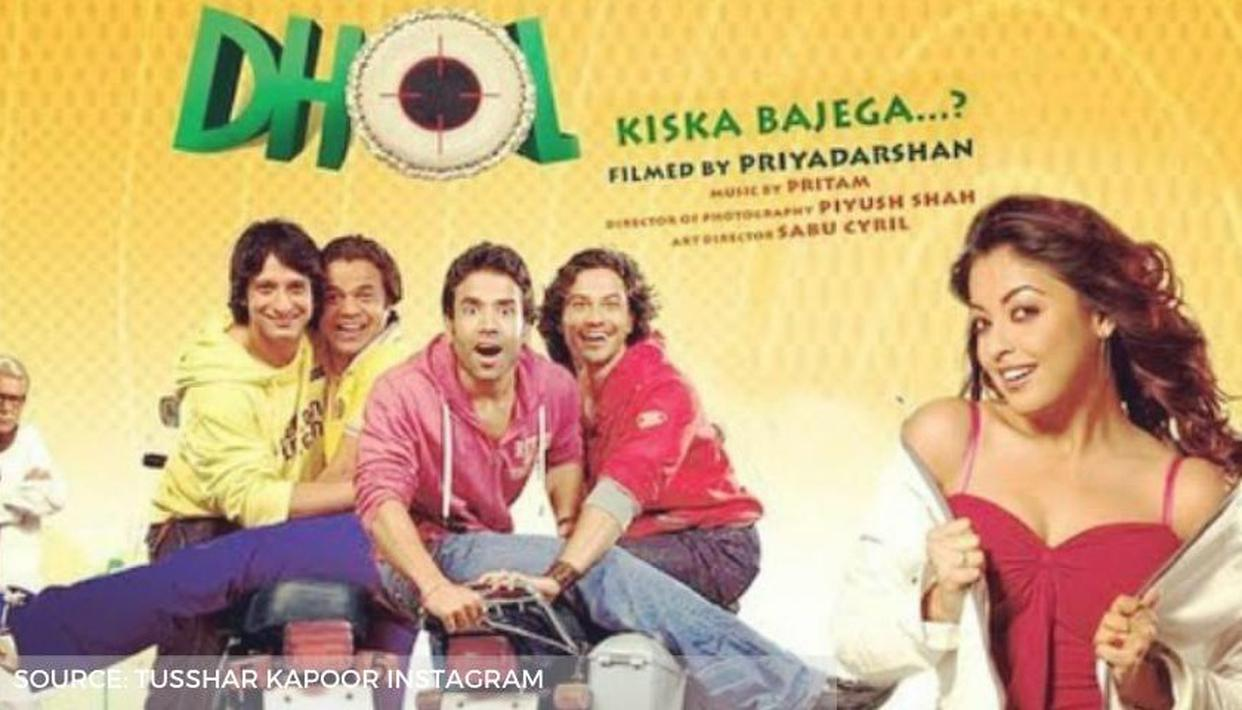 Tanushree Dutta starrer 'Dhol' clocks 13, Tusshar Kapoor shares 'this day that year' post - Republic World