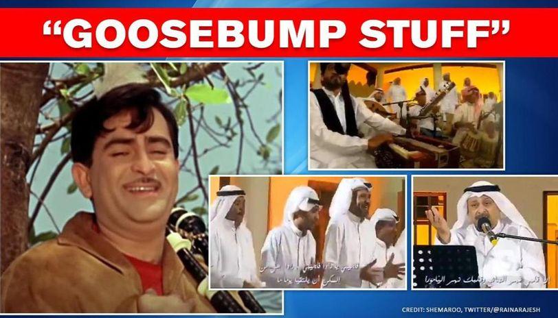 Raj Kapoor's 'Bol Radha Bol' song rendered in Arabic version, netizens say 'superb'