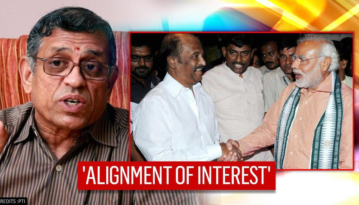 'BJP & Rajinikanth to work together' predicts Gurumurthy; hints at new turn in TN politics