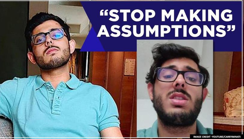 CarryMinati posts first video after row with YouTube, clarifies 'mithai ki dukan' comment