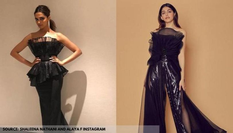 Deepika Padukone's mesh detailed dress or Alaya's jumpsuit ...