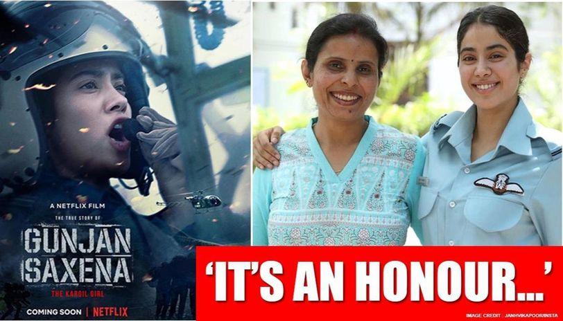 Hope We Make You Proud Ma Am Janhvi Kapoor Tells Former Iaf Pilot Gunjan Saxena Republic World