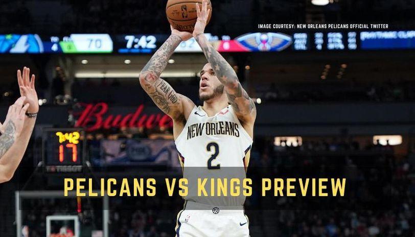 Pelicans vs Kings live streaming