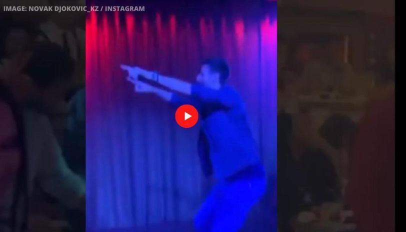 Novak Djokovic Enjoys Wild Night Out After Serbian Charity Tournament Watch Video Republic World