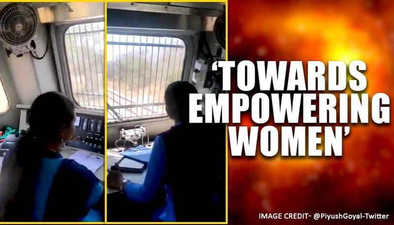 Railway Minister shares video of all women crew running Rajya Rani Express