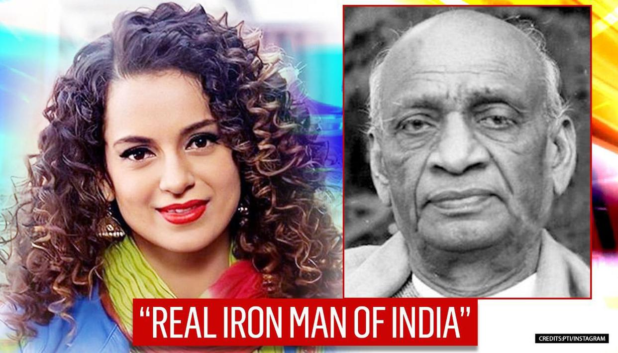 Kangana Ranaut pays tribute to Sardar Patel on National Unity Day, 'regrets' his decision